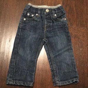 Levi fleece lined jeans